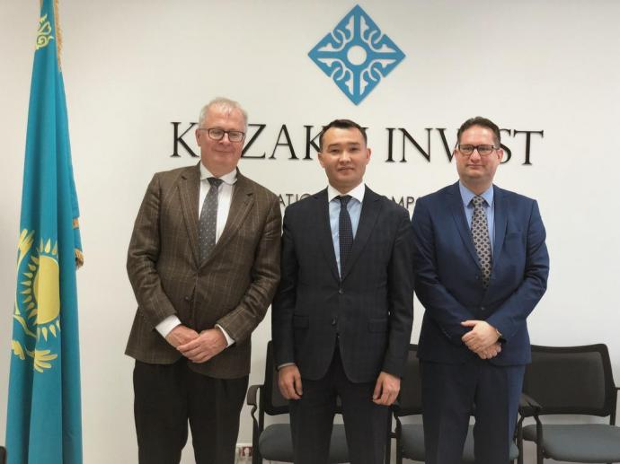 The Head of the KAZAKH INVEST National Company met with the Ambassador Extraordinary and Plenipotentiary of the Federal Republic of Germany